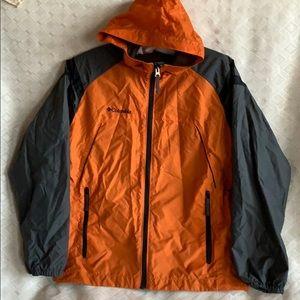 Columbia youth windbreaker jacket